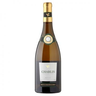 Вино Chablis UVC (Union des Viticulteurs de Chablis) 2017