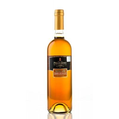 Вино Moscato Terra Siciliane IGT Vino Liquoroso Cantine Pellegrino