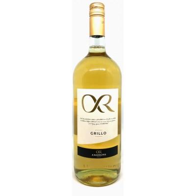 Вино Grillo Sicilia DOP Andrero 2018 Magnum 1500мл.