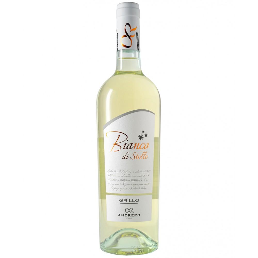 Вино Grillo Terre Siciliano Bianco di Stelle Andrero 2020
