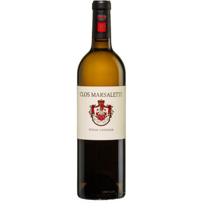 Вино Clos Marsalette Blanc Pessac-Leognan 2016