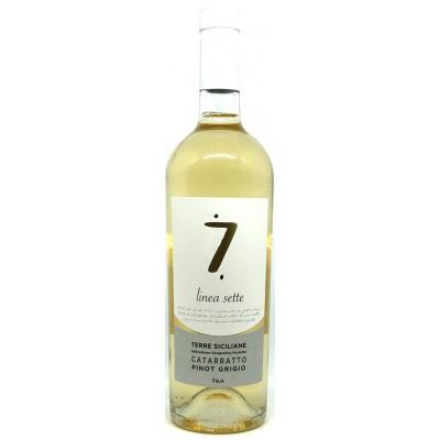 Вино Cataratto Pinot Grigio Terre Siciliano IGT Linea Sette 2017