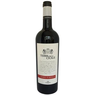 Вино Nero d'Avola Terre Siciliane IGT Andrero Terra delle Cicale 2016 Magnum 1500мл.