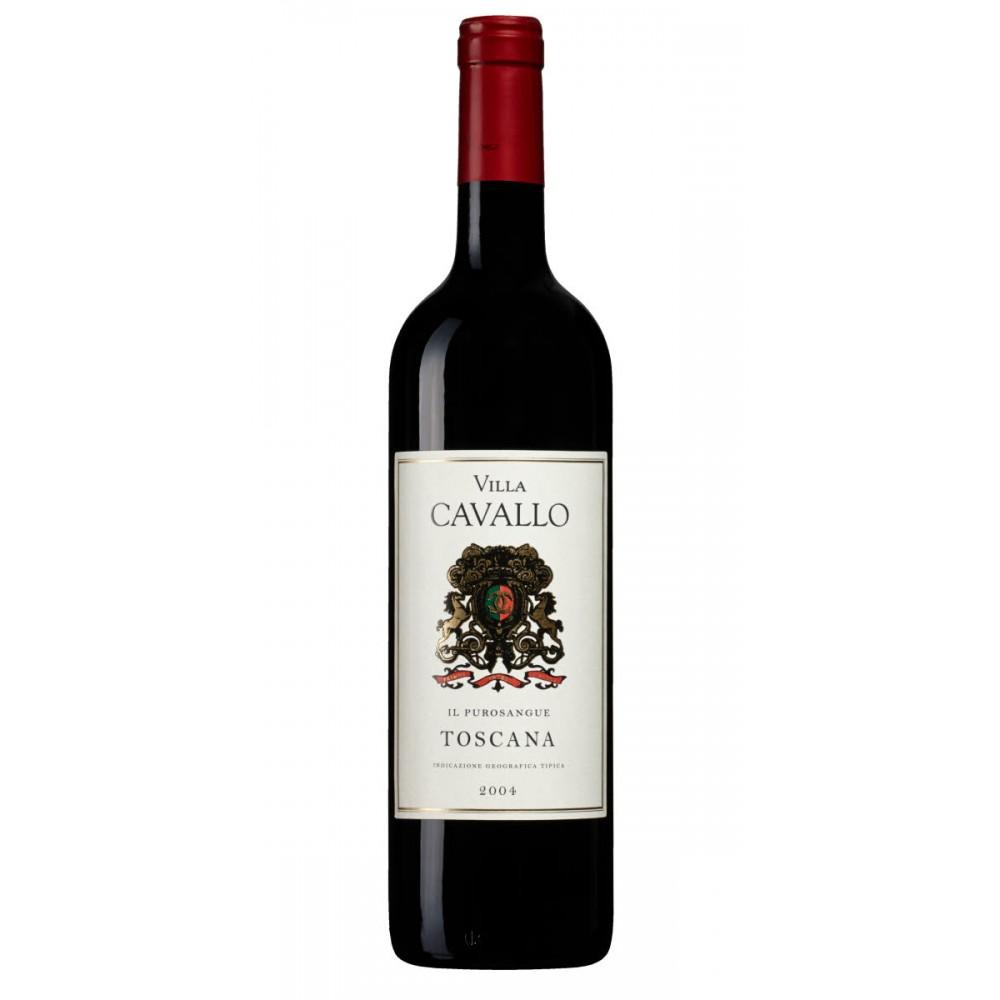 Вино  Villa Cavallo il Purosangue Toscana IGT 2004