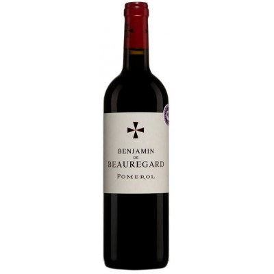 Вино Benjamin de Beauregard Pomerol AOC 2016