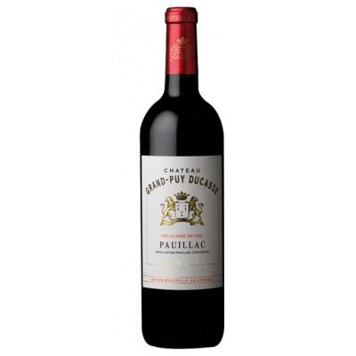Вино Château Grand-Puy Ducasse 5-eme Grand Cru Classe Pauillac AOC 2012