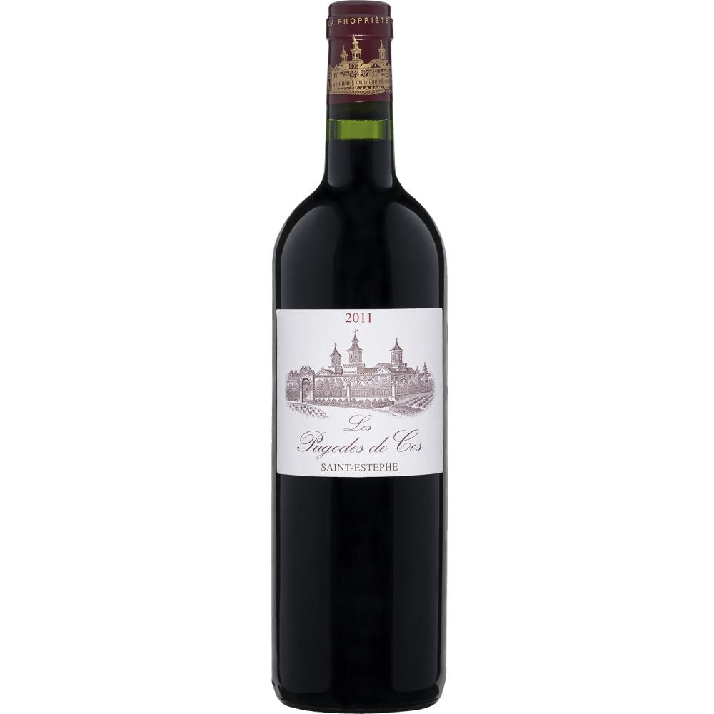 "Вино ""Les Pagodes de Cos"" AOC Saint-Estephe 2011"