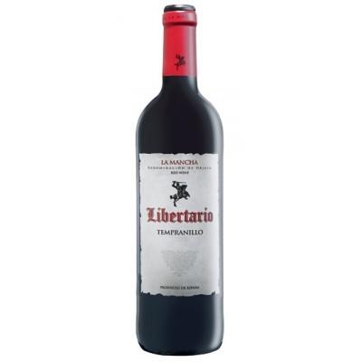 Вино Libertario La Mancha DO Tempranillo 2018