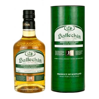 Ballechin 10 YO Highland Single Malt Scotch Whiskey