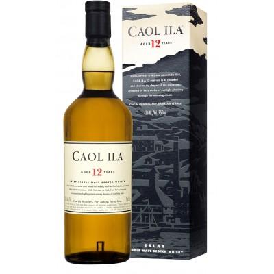 Caol Ila Islay Malt Aged 12 Y with Box