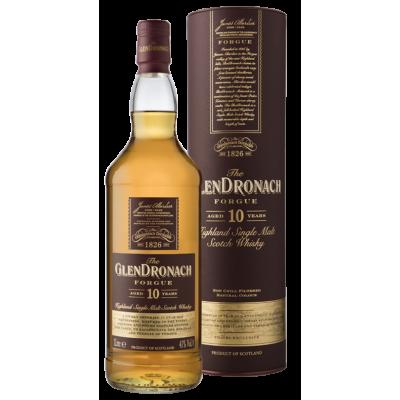 GlenDronach Forgue 10YO Single Malt Scotch Whiskey 1л.