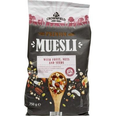Мюсли Crownfield Premium Muesli (борд)