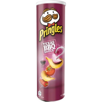Чипсы Pringles Texas BBQ Sause