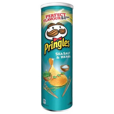 Чипсы Pringles Sea Salt & Herbs
