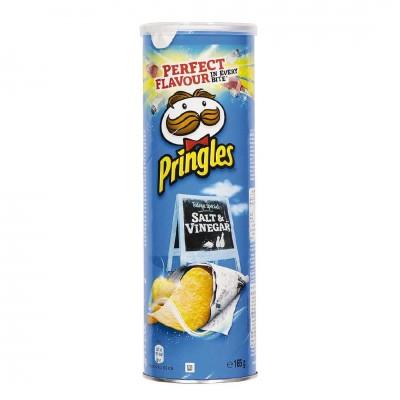 Чипсы Pringles Sea Salt & Vinegar