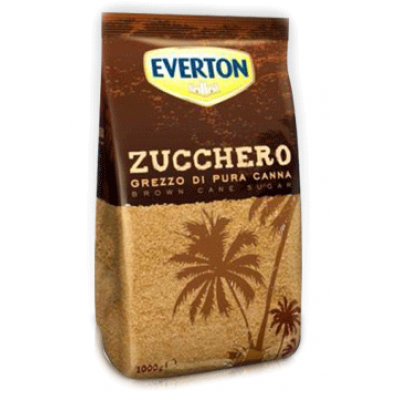 Тростниковый сахар Everton Zucchero Grezzo di Pura Canna 1кг.